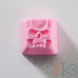 Creamy Pink Scull