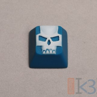 Teal Wave Scull